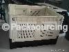 Plastic logistics crate