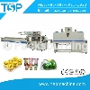 Full automatic dispasable cup forming and instant coffee wrap shrinking machine