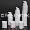 White airless pump bottles 15ml,30ml,50ml