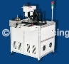 Automatic tag drilling eyelet machine