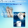 Life casting silicone rubber for special make-up for life