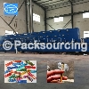 Smoke paper printing and gluing machine