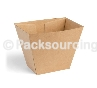 Hot Chip Box – Brown Board
