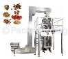 Combined weighing and packaging machine