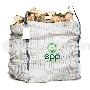 Hot sale 1.5 ton 2 ton firewood packaging FIBCs ventilated food grade industrial mesh jumbo bag