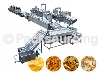potato chips processing line with packaging