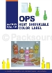 Shrink Label - OPS HEAT SHRINKABLE COLOR LABEL